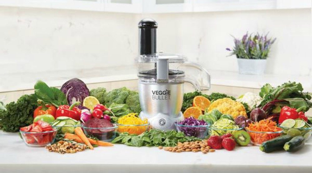 Meal prep like a pro with a Veggie Bullet worth almost $200 (CONTEST)