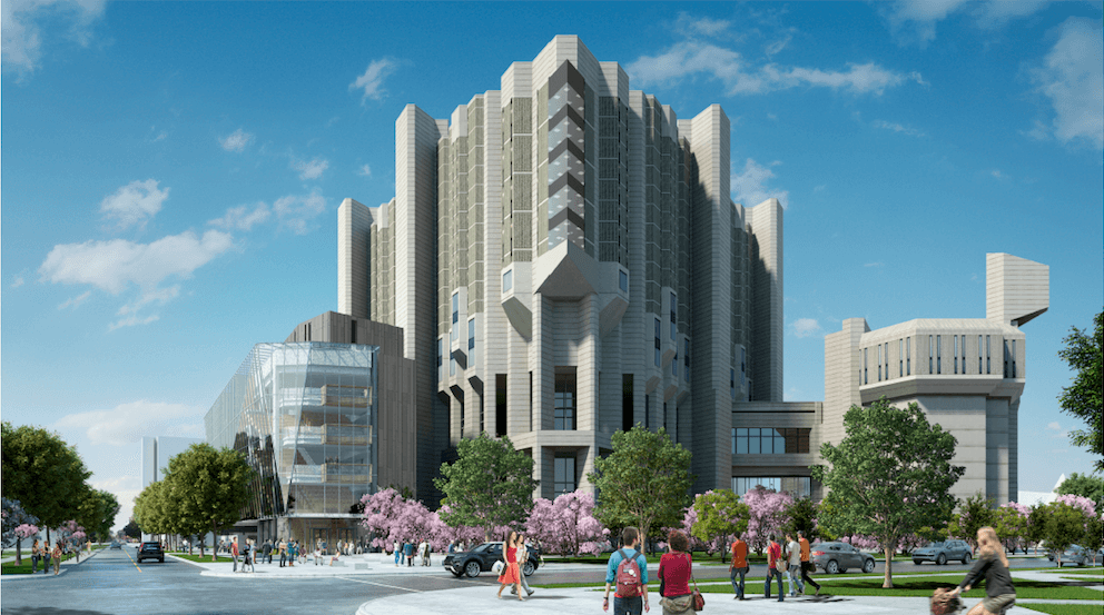 U of T's Robarts Library expansion begins this month (RENDERINGS)