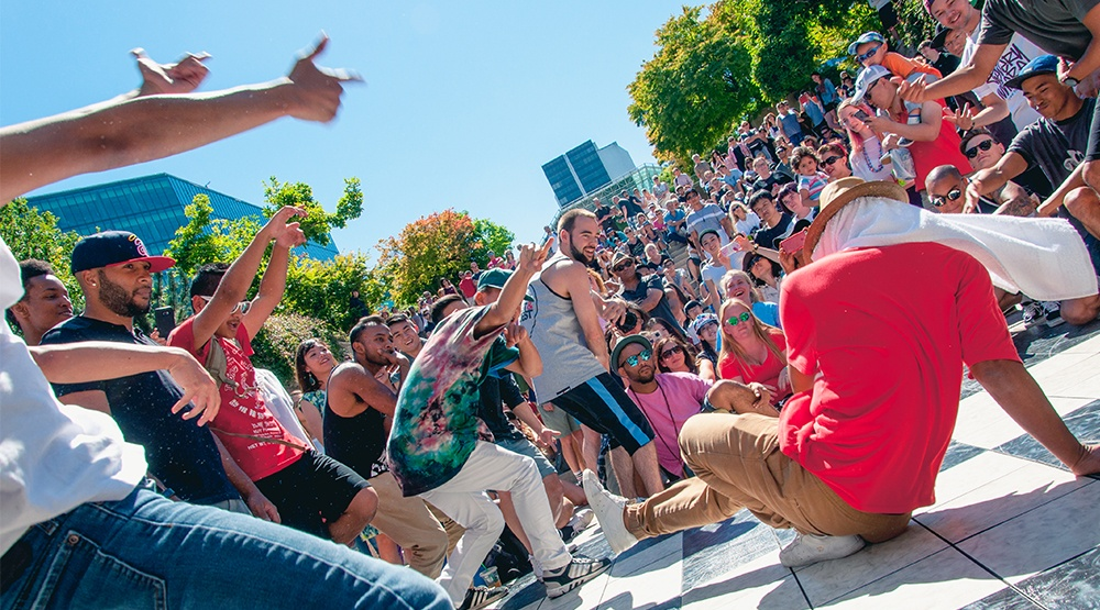 Once banned street dancers are hitting Robson Square with a festival