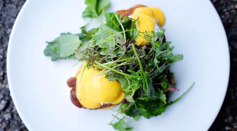 West brunch eggs benedict