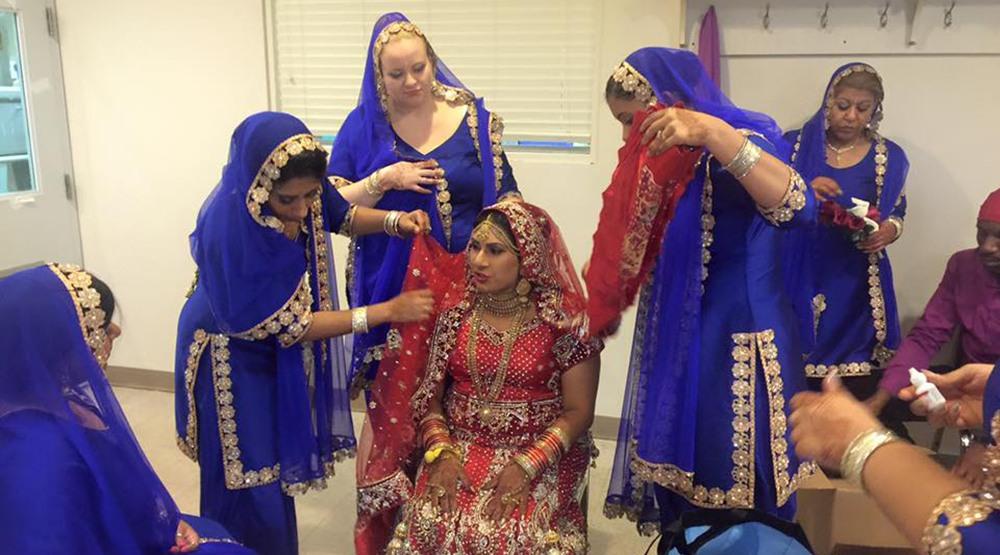 Rani gill preparing for her wedding to sunny rani gill