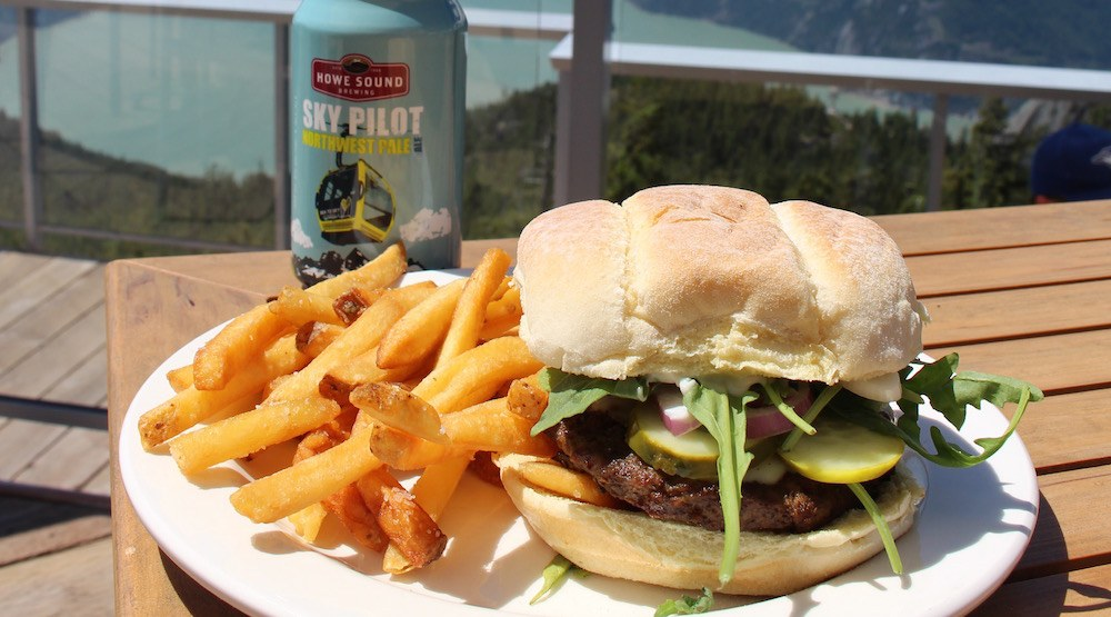 Sea to sky gondola burger beer