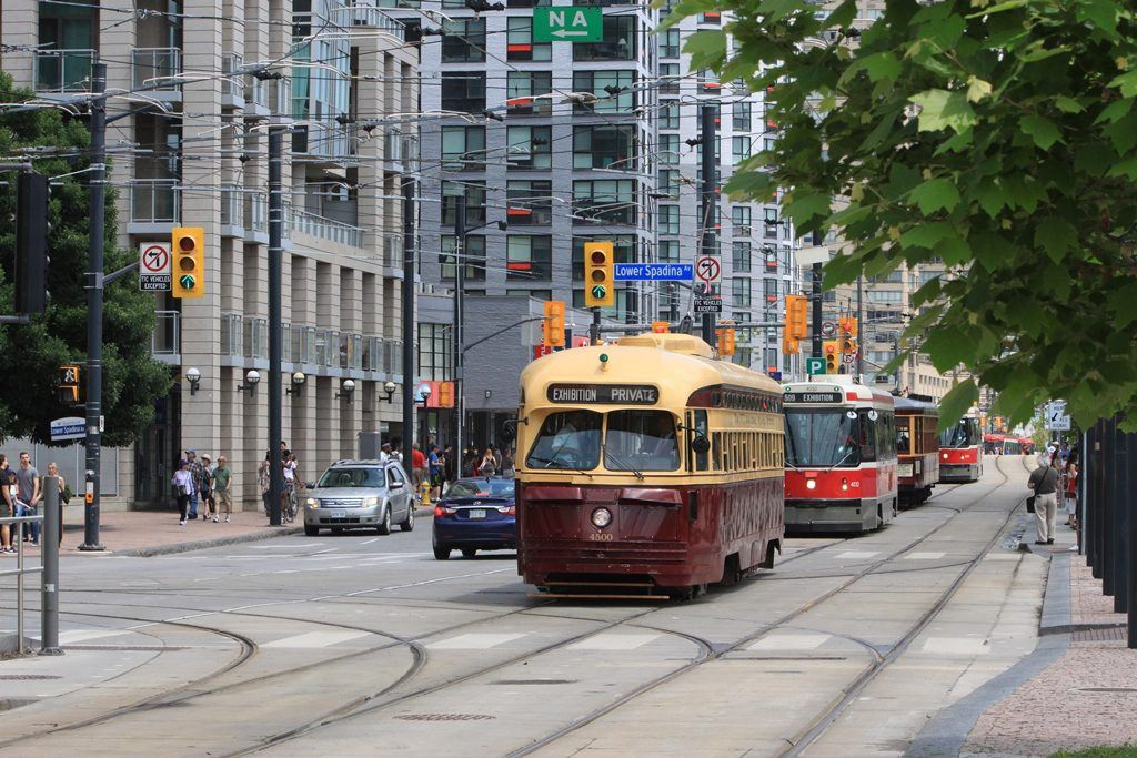 Two Vintage Ttc Streetcars Went Out For A Spin On Canada