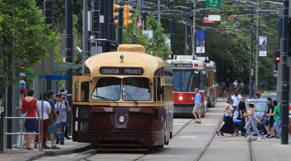 Two vintage TTC streetcars went out for a spin on Canada Day (PHOTOS)