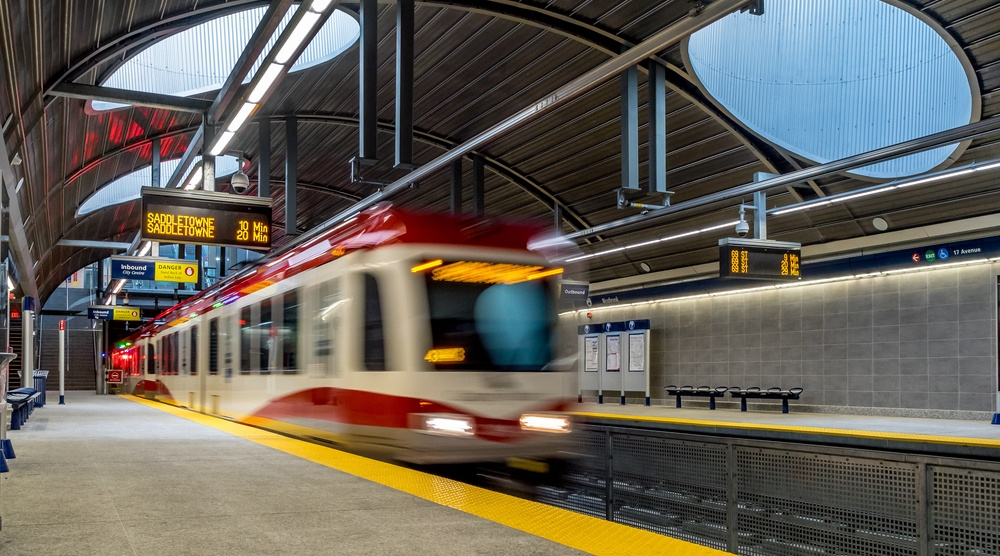 Calgary c train
