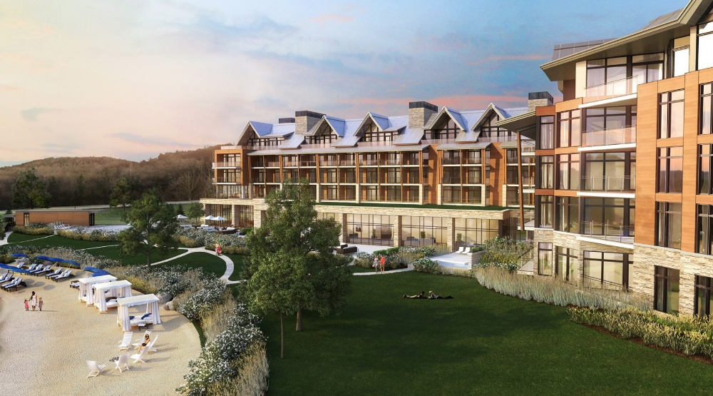 A gorgeous new beachfront resort is opening in Quebec