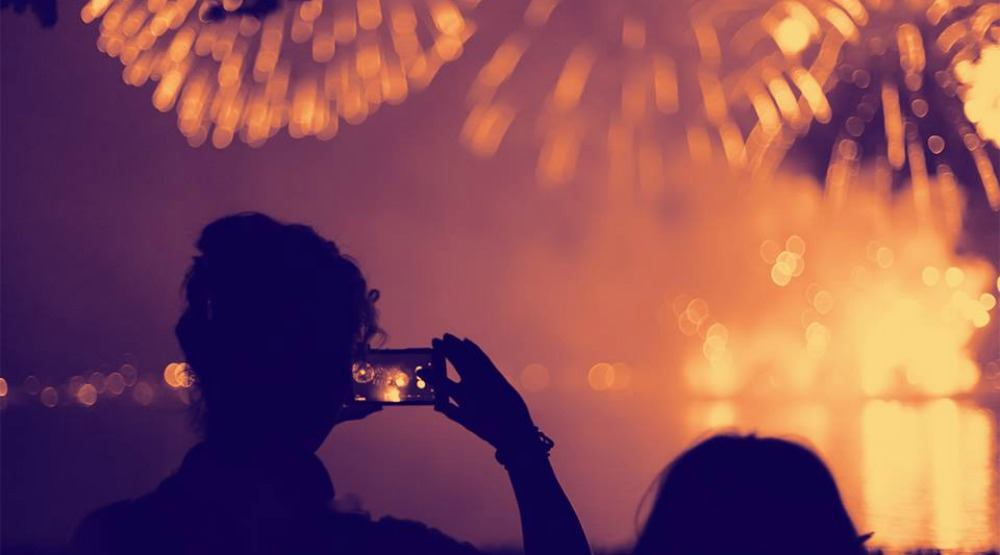 Watch the Honda Celebration of Light from The Keg Lounge (CONTEST)