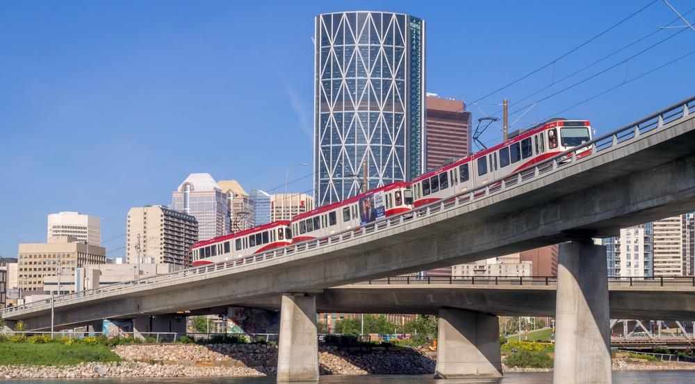Calgary transit shutterstock