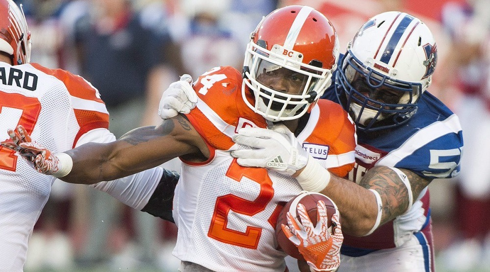 Lulay's challenge helps BC Lions to 2nd straight win