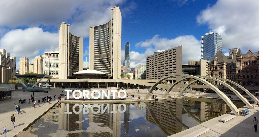 A huge outdoor art exhibition is taking over Nathan Phillips Square next week