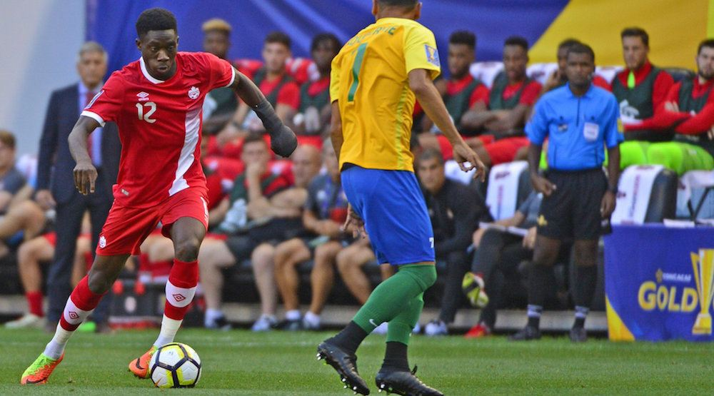 Youngest EVER: Alphonso Davies scores 2 goals for Canadian Men's National Team (VIDEO)