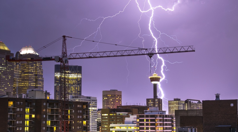 Calgary could see thunderstorms Tuesday afternoon