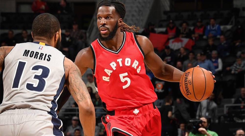 Report: Raptors trade DeMarre Carroll to Brooklyn Nets