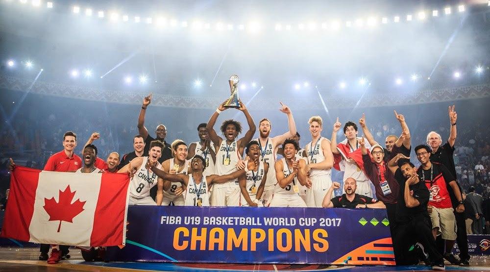 Canada basketball u19 champions