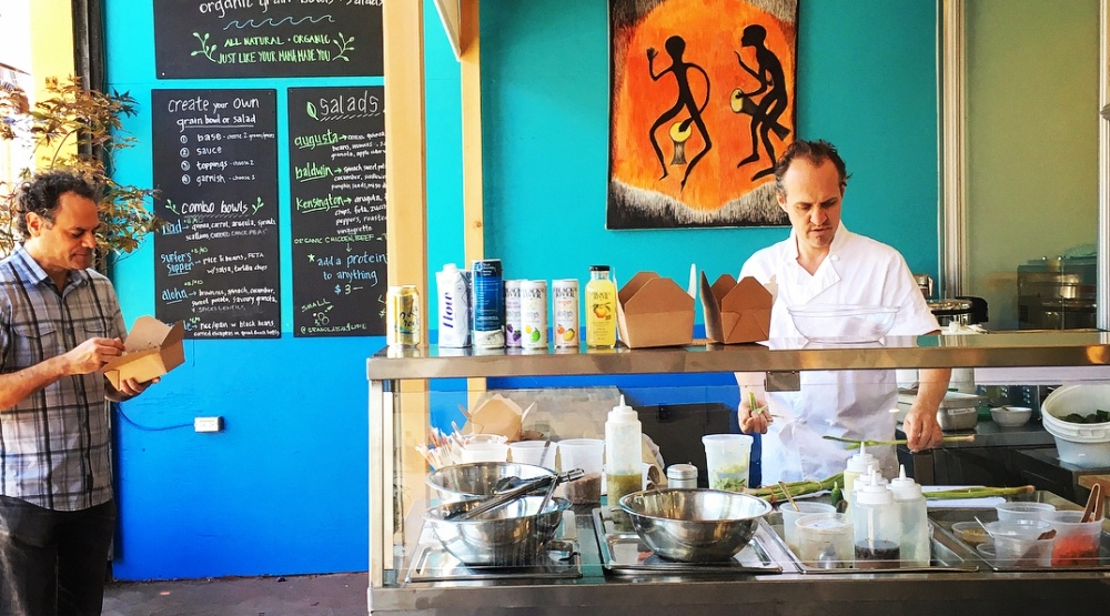 New Rice Bar serves rescued food and electric lemonade