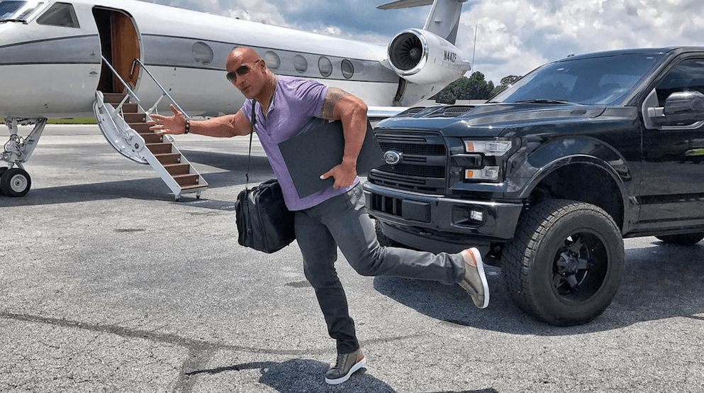 The Rock reveals why he loves Vancouver