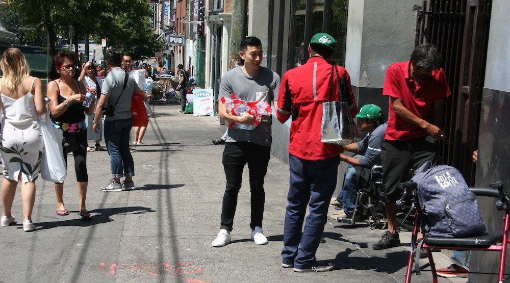 Help Vancouver's homeless beat the heat by donating essential supplies
