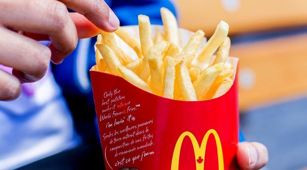 McDonald's Canada giving away FREE fries this week