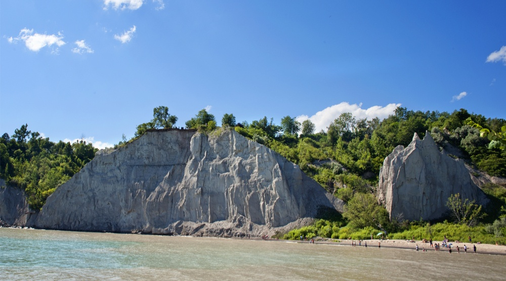 Trespassing at the Scarborough Bluffs can cost you up to $10,000 in fines