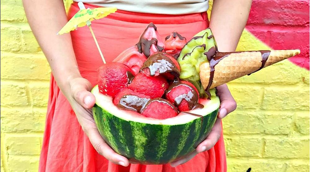 This Mile End spot serves an insane watermelon sundae