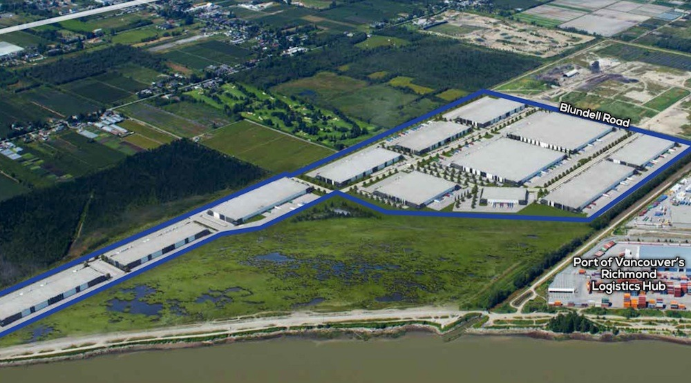 Construction begins on Metro Vancouver's largest industrial campus
