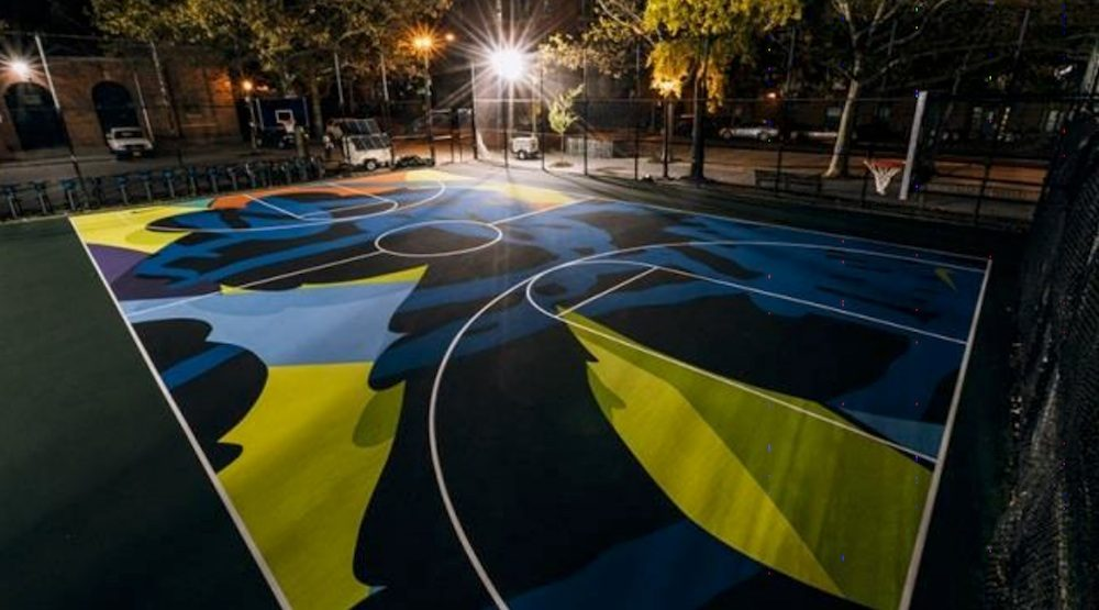Vancouver park board approves 35 000 basketball court for Basketball court mural