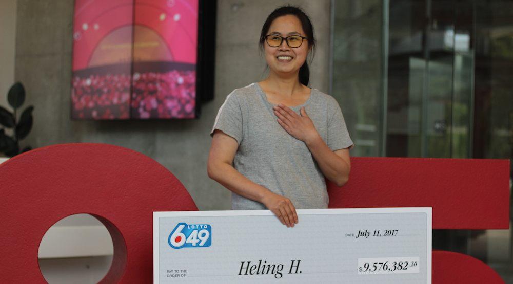 Richmond woman collects $9.5-million Lotto 6/49 jackpot