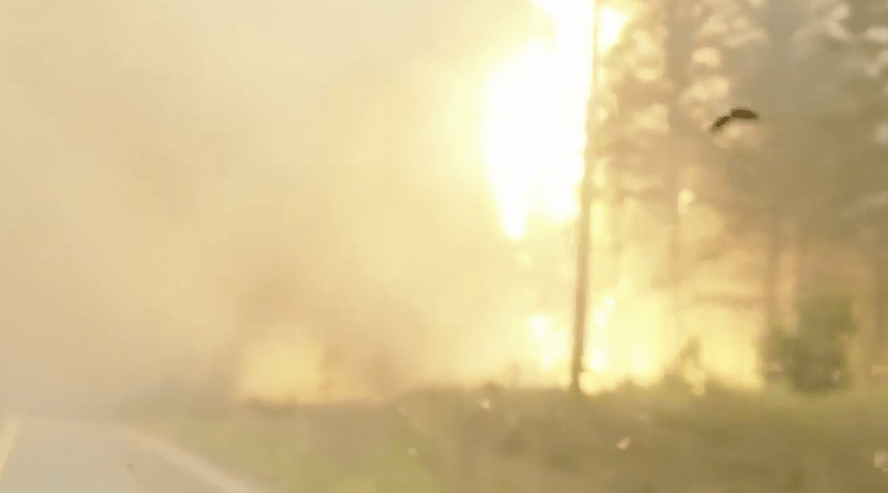Dramatic video shows UBC Prof's escape from BC wildfire