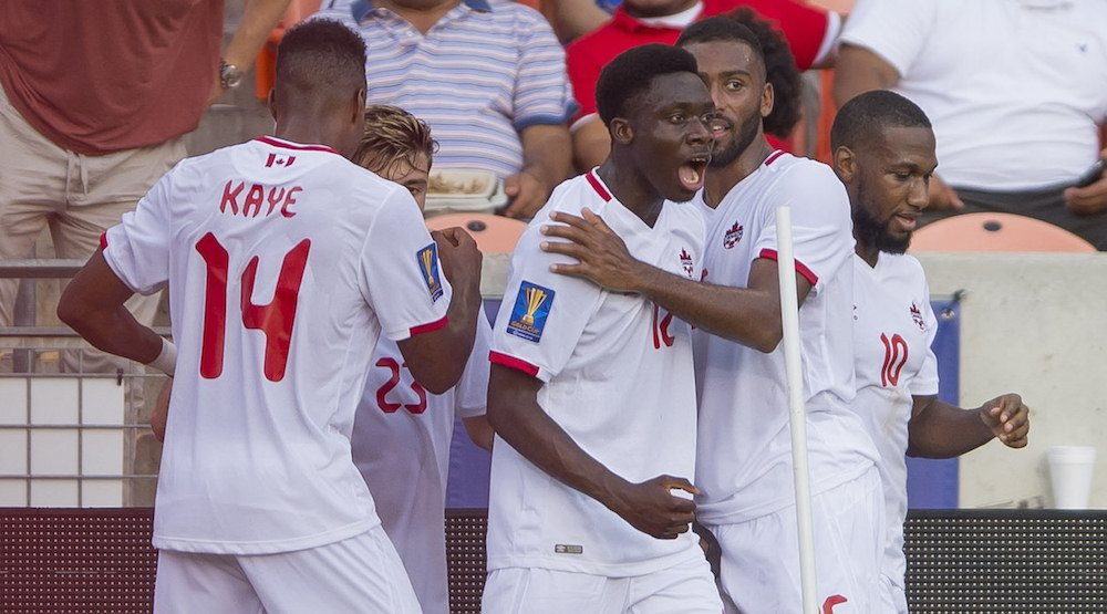 16-year-old Alphonso Davies putting Canada on his back at Gold Cup