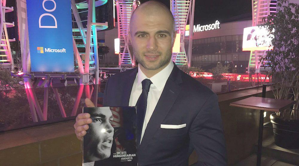 Giordano humanitarian award