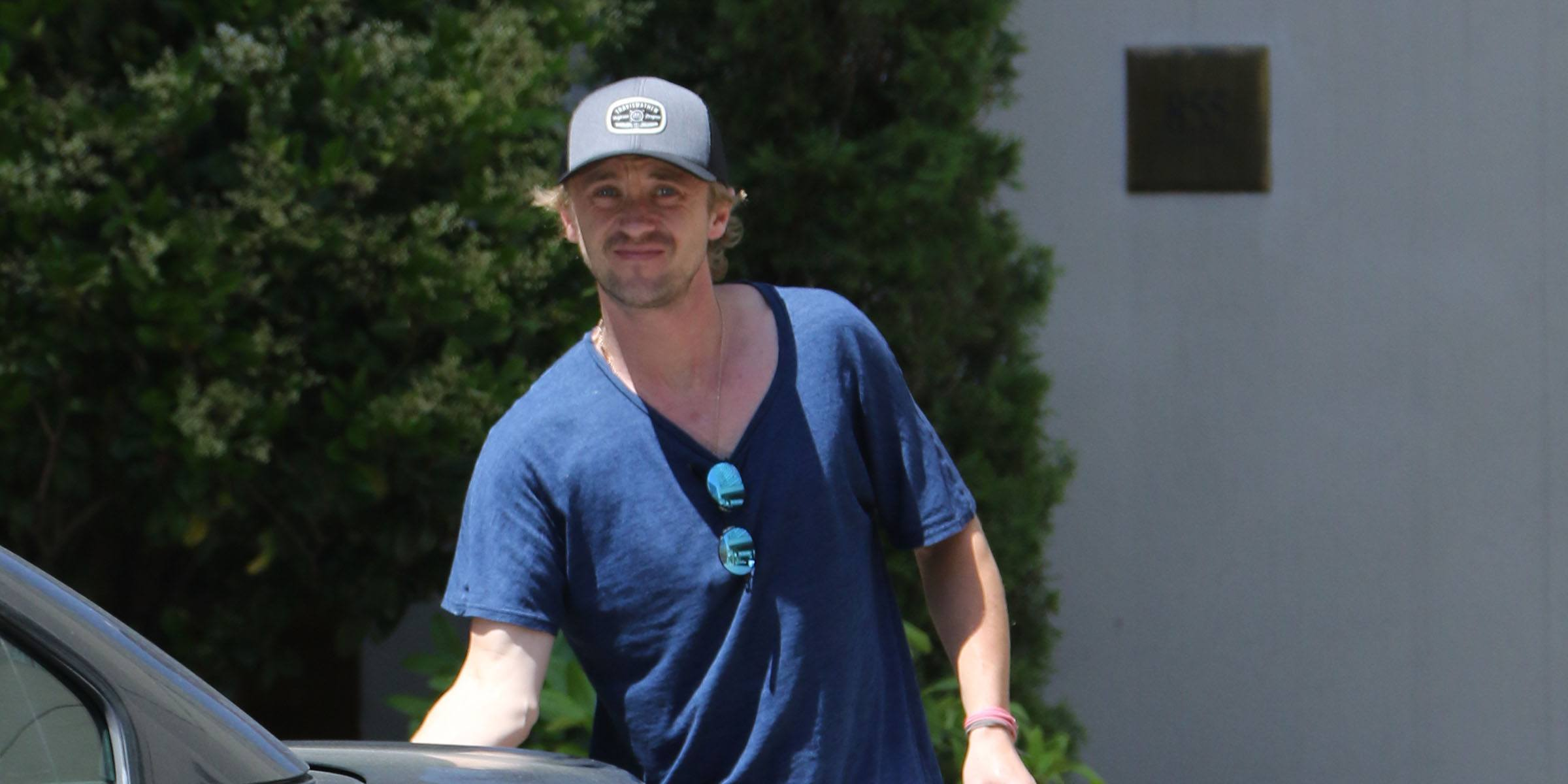 Tom Felton spotted in Vancouver, but will he back? (PHOTOS)