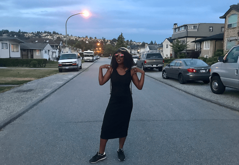 People of Vancouver: Sarah Audrey Mome. (Folake Adesugba/Daily Hive)