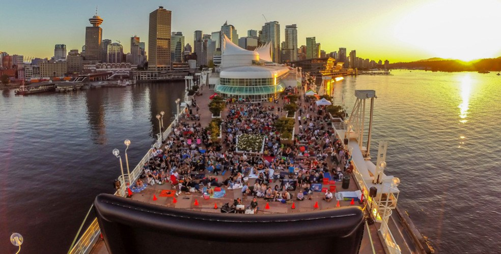 Free outdoor movies at Canada Place 2017 schedule