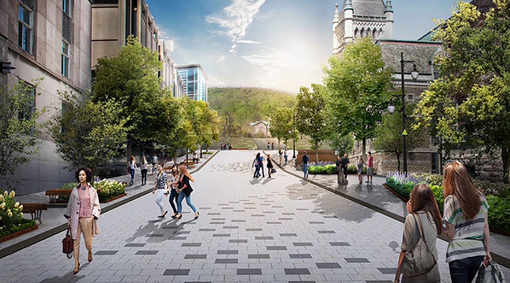 Montreal will unveil its new 3.8 km River Mountain Path next week