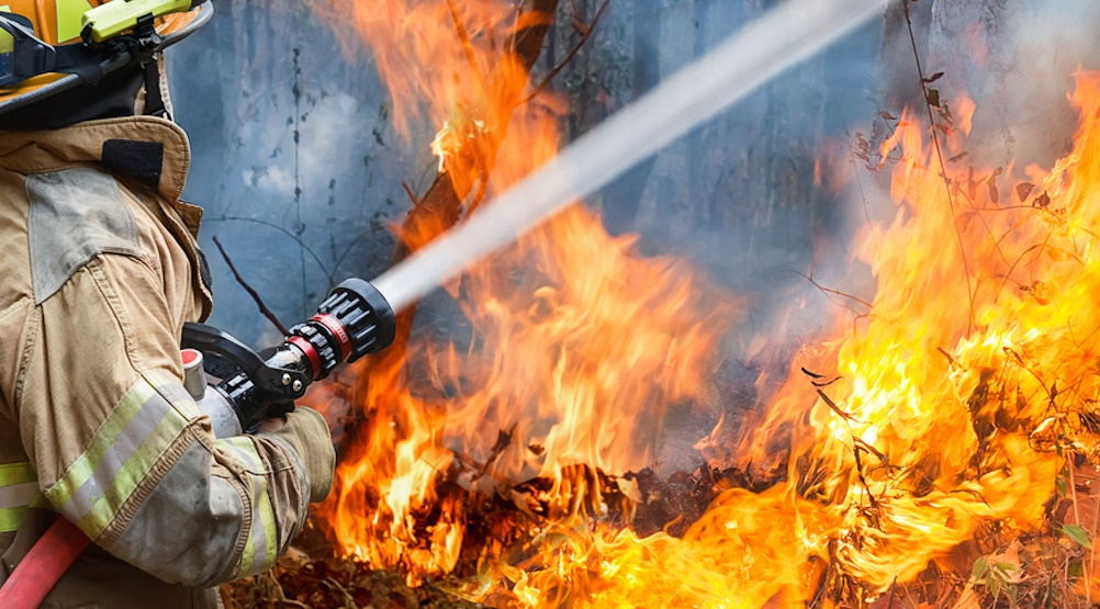 Firefighter wildfire shutterstock