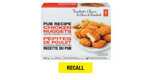 Chicken Nugget recall (Loblaw Companies Limited)