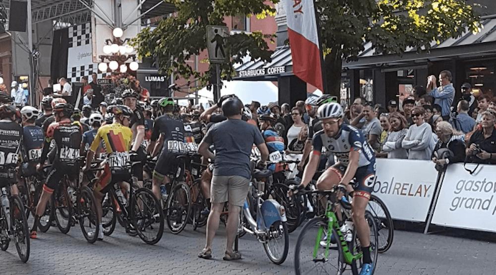 Spotted on Reddit: Guy on Mobi bike enters Gastown Grand Prix