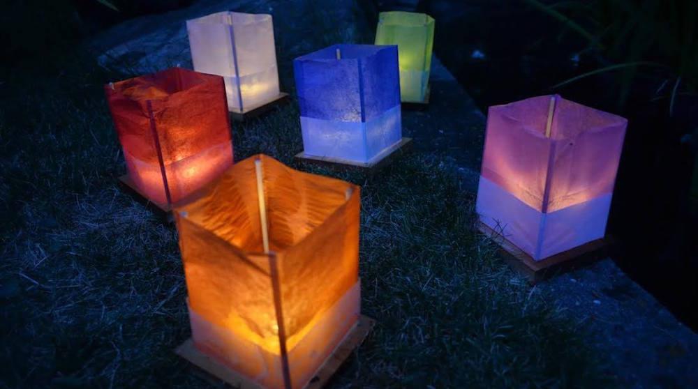 Floating lantern festival fb
