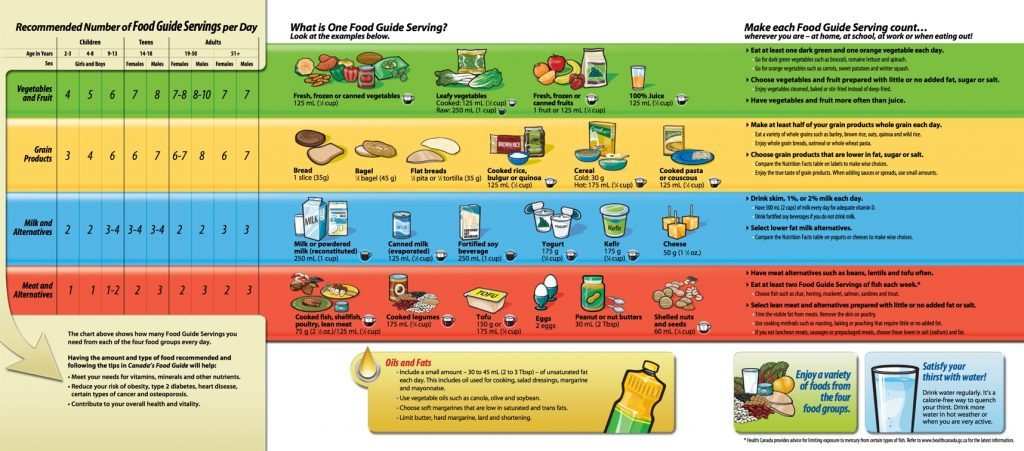 Canada's Food Guide - 2007