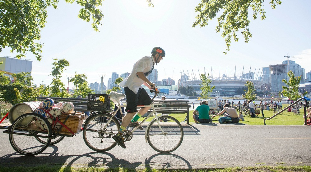 Register for Bike to Shop Days and you could win a Babboe Cargo Bike