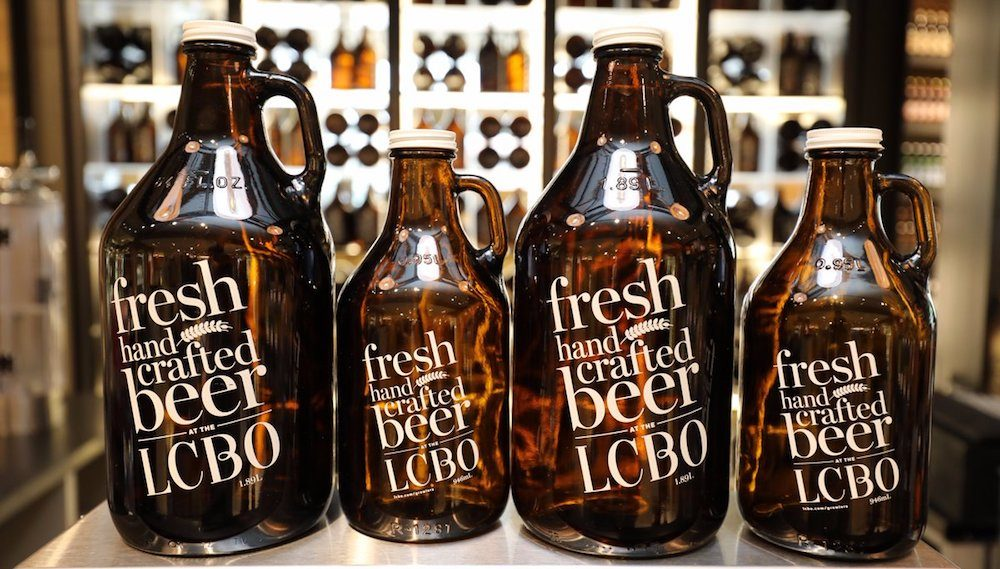 LCBO and The Beer Store now selling howlers and growlers at select stores