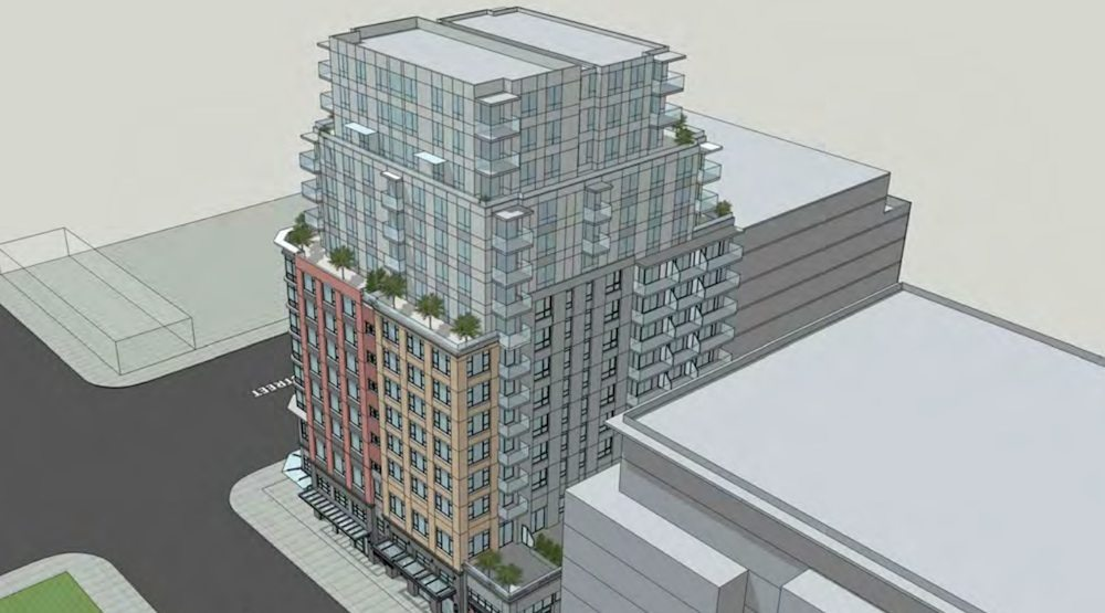 Tower proposal for Brickhouse site in Vancouver's Chinatown to be downsized