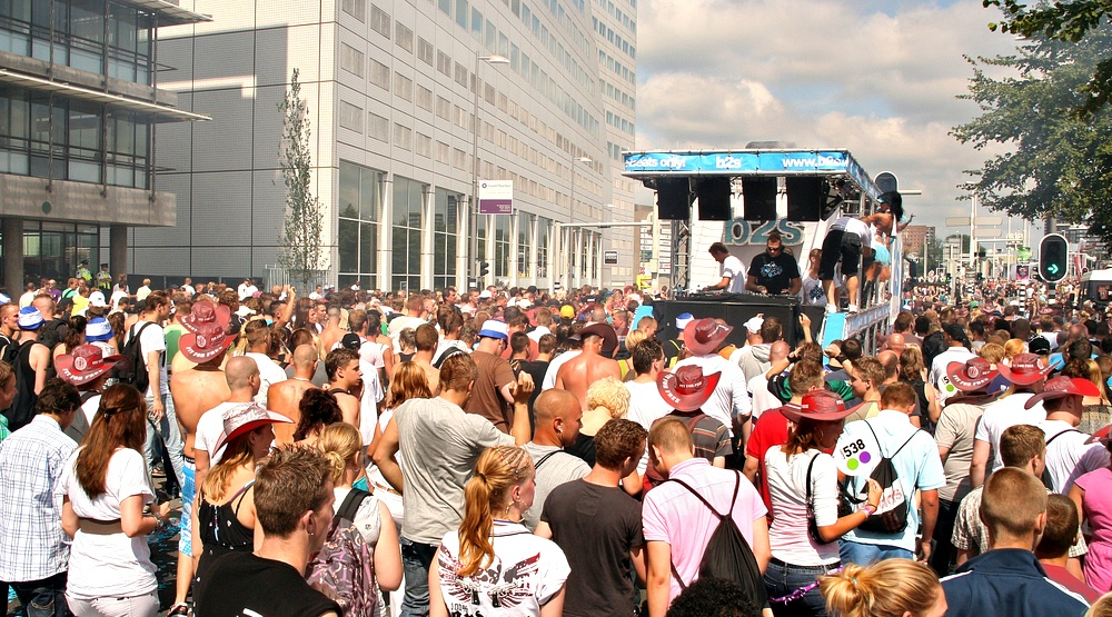 A free electronic music parade is taking over Montreal