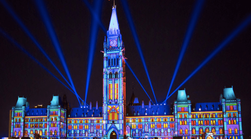 This incredible light show is happening at Parliament Hill all summer (PHOTOS)