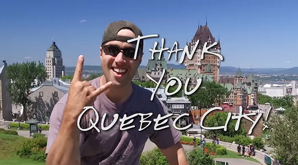 Metallica thanks Quebec City in a beautiful video