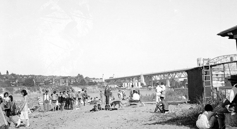 Vancouver history brown skin beach 1932