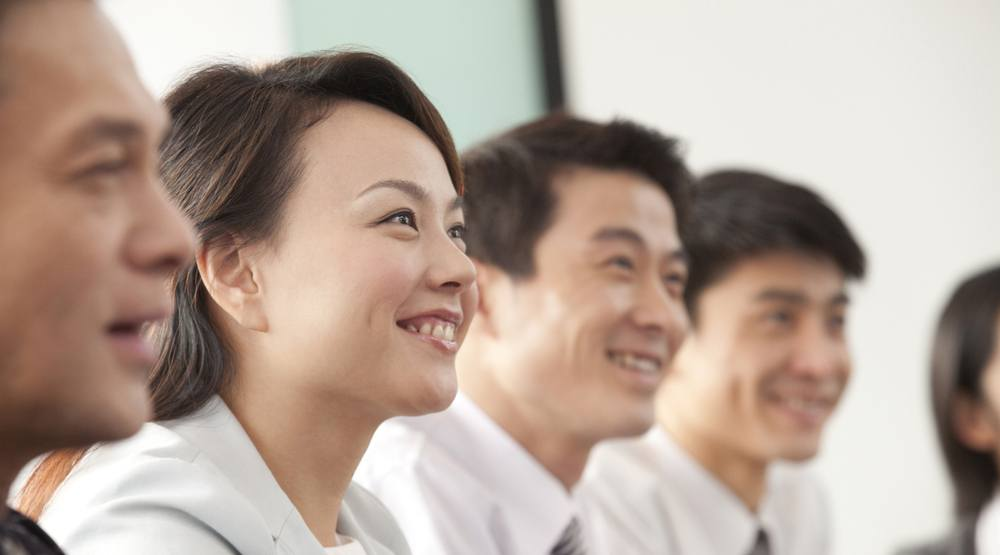 Chinese businesspeople shutterstock