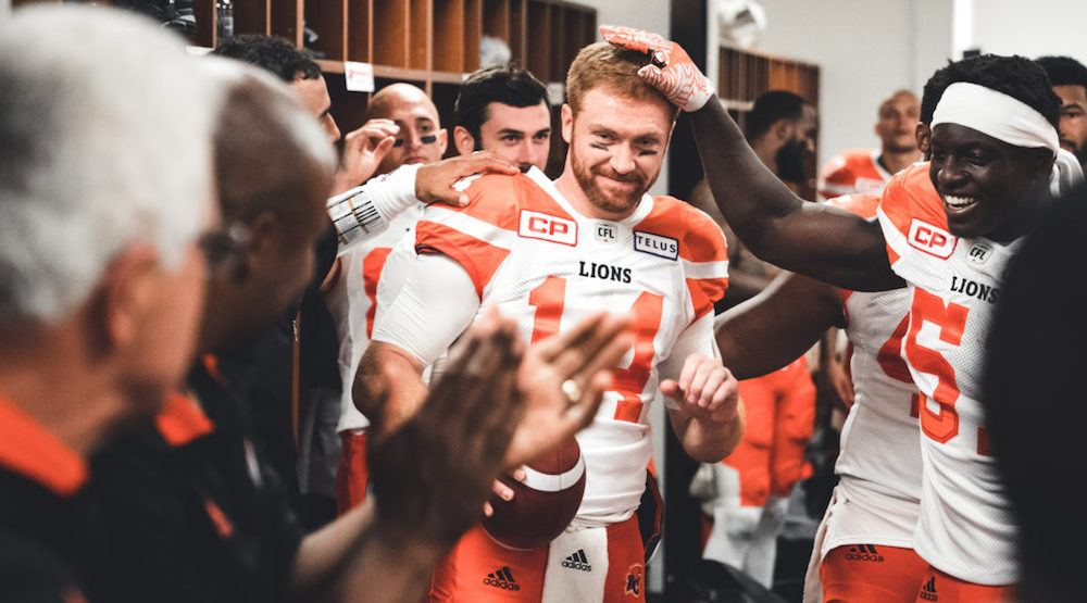 Travis lulay bc lions