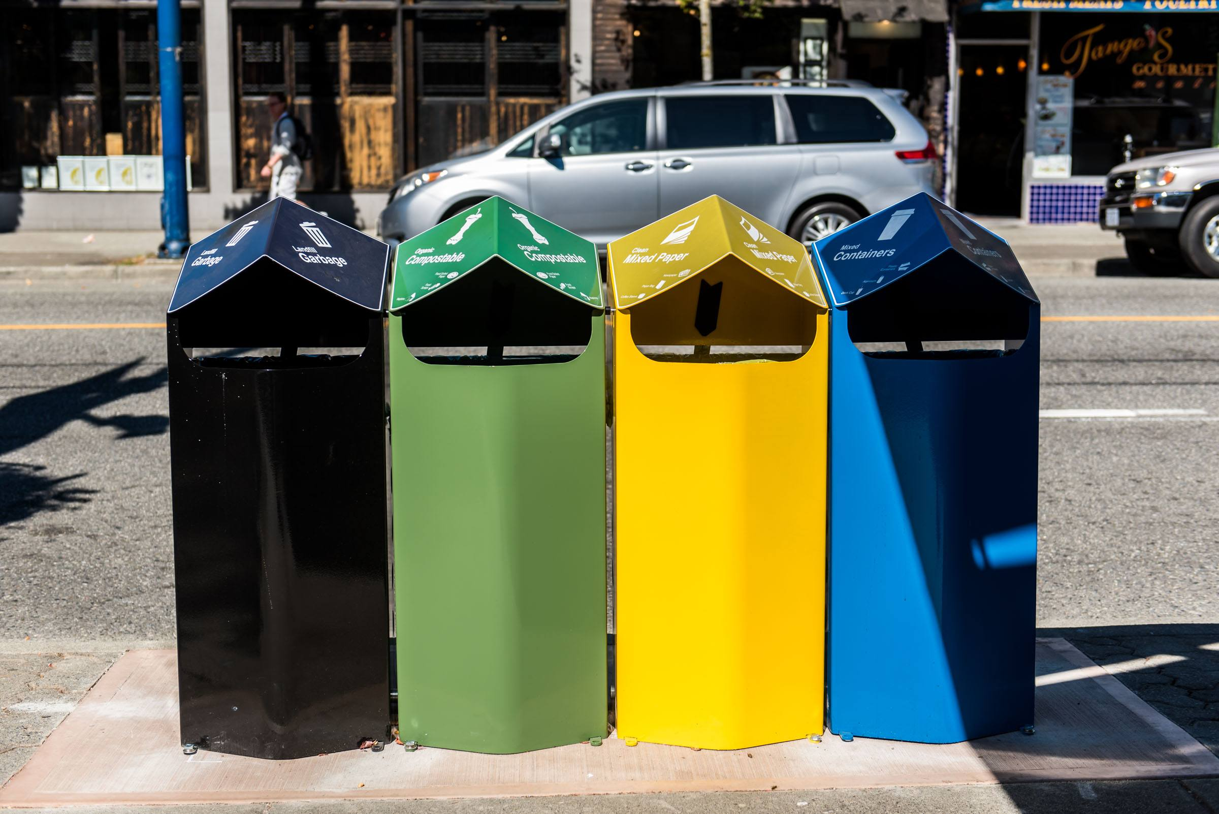 how to get a recycling bin