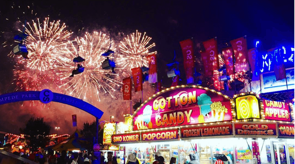 15 mesmerizing photos and videos of Calgary Stampede fireworks